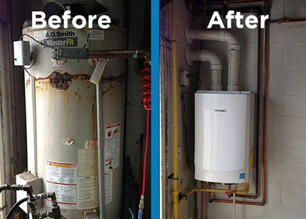 Tankless Water Heaters Geers Plumbing And Heating